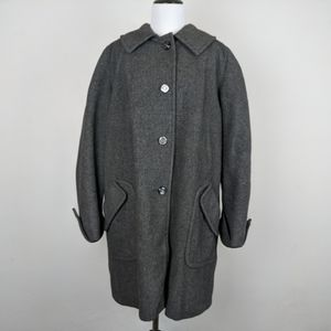 The Sportster Tailored at Pennway Park Wool Coat